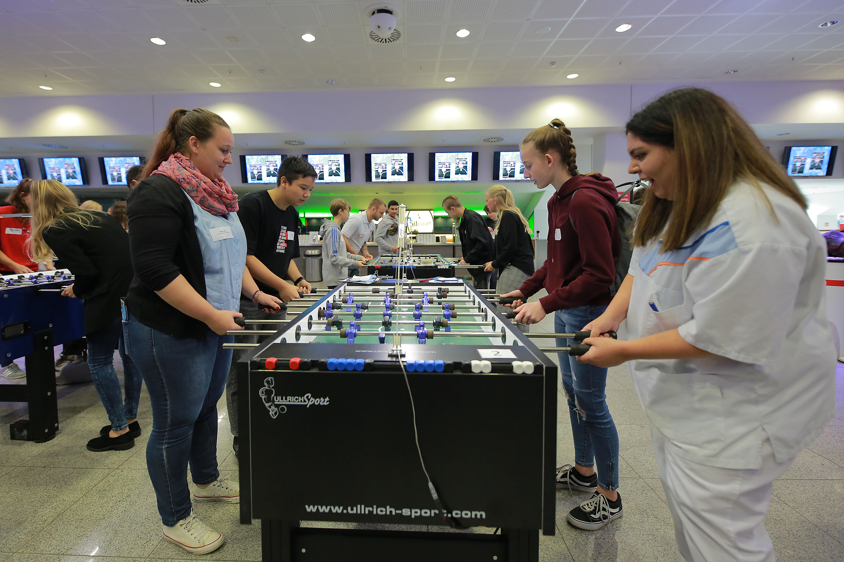 Business Lounge Borussia Park, Karriere-Kick, MG connect, WFMG